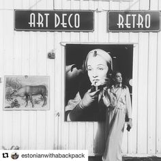 Art deco i Norge? Ja Moelv. #reiseliv #reisetips #reiseblogger #reiseråd  #Repost @estonianwithabackpack (@get_repost)  Moelv probably is one of the most boring towns in Norway. Not in a bad way but there really is nothing happening there. But there's something other towns don't have. The coolest art deco shop