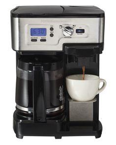 Hamilton Beach 49983 2 Way Brewer 12 Cup CoffeeMaker Coffee Singe Cup ...