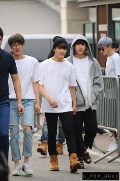 Bangtan Boys ❤ Seokjin (jin), Jungkook (kook),Taehyung (v) & Namjoon (rapmon)