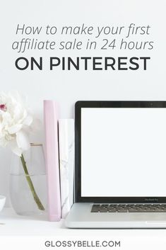 Are you struggling to make money on Pinterest? Follow this easy method to make your first affiliate sale on Pinterest! I made mine in less than 48 hours! #affiliate | girl boss | entrepreneurship | passive income | make extra money | affiliate marketing
