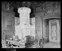 The Metropolitan Museum of Art, Wing F, 1st Floor, Room 11: The Hoentschel Collection: Room from Flims, Switzerland. Photographed on March 22, 1910. Image © The Metropolitan Museum of Art