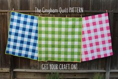 The Gingham Quilt PATTERN