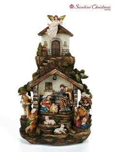 Christmas Nativity Scene, Christmas Villages, Nativity Sets, Christmas Crafts, Christmas Decorations, Holiday Lights, Holiday Ornaments, Birthday Calender, Angel Art