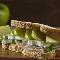 Sándwich de Pechuga de Pavo con Manzana