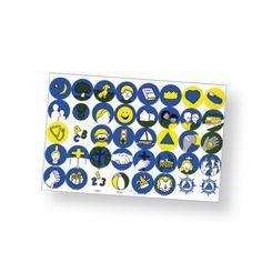 Skipper Activity Stickers