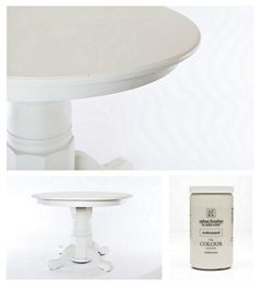 "Table painted in the color ""Understated"" from Velvet Finishes. Flawless matte finish/"