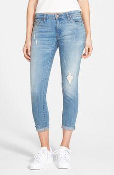 BLANKNYC 'Kale Yeah' Distressed Skinny Jeans (Medium) available at #Nordstrom