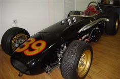 1962 - (#39) Carmen-McGee Built Chevrolet Powered Indy Roadster - Was Sold at the January 2011, Barrett Jackson Auction, Scotsdale, Arizona for $110,000.00