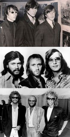 I'd date and marry all 3 if I can. Broken Heart Lyrics, Mending A Broken Heart, Robin Pictures, Band Pictures, Warner Music, Vintage Bee, Barry Gibb, Pop Rock, Album Songs