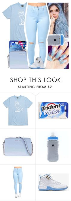 """""""Untitled #549"""" by issaxmonea ❤ liked on Polyvore featuring Michael Kors and NIKE"""