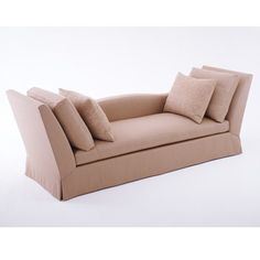 """Donghia BOND STREET daybed chaise Width: 99.5"""" (253 cm) Depth: 35.5"""" (90 cm) Height: 34.5"""" (88 cm)"""