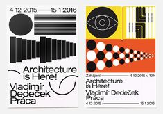 Jozef Ondrik: Architecure is Here! Posters for PRAHA