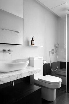 Loft Decorating Ideas - Abstract Canvas Wall Art And Minimalist Decor - Minimalist Home Decor - Bathroom Renos, Grey Bathrooms, Laundry In Bathroom, Beautiful Bathrooms, Bathroom Renovations, Modern Bathroom, Small Bathroom, Bathroom Ideas, Bathroom Vanities