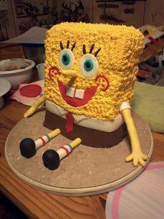 Sponge Bob cake! It was as big as Shawn for his first birthday lol