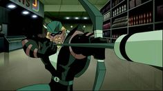 When Justice League Unlimited was being formed, Green Arrow was immediately asked to join--but, despite repeated requests, the League never heard back from Green Arrow. Team Arrow, Arrow Tv, Green Arrow Justice League, Green Arrow Cw, Justice League Animated, Bruce Timm, Batman Beyond, Geek Squad, Dc Comics Art