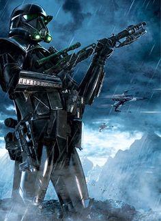 Galaxy Fantasy: Rogue One: A Star Wars Story nos muestra más piezas de arte promocional