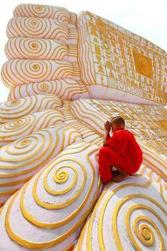 """Buddha's Footprint"" | Photographer: Kyaw Win Hlaing, 2012"