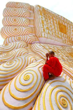 Buddha's footprint © Kyaw Win Hlaing