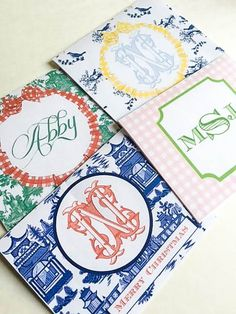 How To Create Custom Monogram Stationary At Home