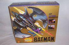 BATMAN BATWING Villian Cruncher 1989 Movie TOY BIZ Complete New Unused Mint MIB