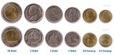 Bald Rama X. auf Münzen
