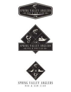 Spring Valley Anglers Rod & Gun Club by Jeremy Teff, via Behance