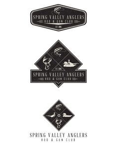 Spring Valley Anglers Rod & Gun Club by Jeremy Teff, via Behance