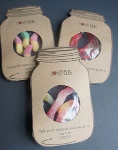50 Love Bug Wedding favours on Etsy, £36.35