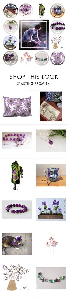 """""""Daily Dose Of Purple"""" by jarmgirl ❤ liked on Polyvore featuring Rustico and vintage"""