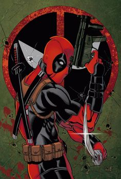 #Deadpool #Fan #Art. (Deadpool) By: Antonioagustinho. (THE * 5 * STÅR * ÅWARD * OF: * AW YEAH, IT'S MAJOR ÅWESOMENESS!!!™)[THANK U 4 PINNING!!!<·><]<©>ÅÅÅ+