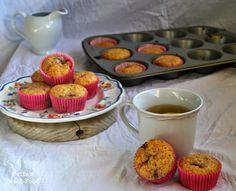 Muffins de limón y frambuesa