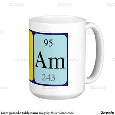 Laura periodic table name mug september 2016 purchases form my liam periodic table name mug urtaz Image collections