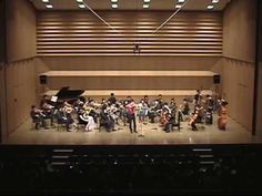 Astor Piazzolla/ Primavera portena by Viloin with strings orchestra - YouTube