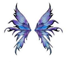 i like these wings for a fairy tattoo