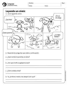 Leyendo un cómic Elementary Spanish, Spanish Classroom, Spanish Language Learning, Teaching Spanish, Learn Spanish, Learning Sight Words, Kids English, Formative Assessment, Cloud Strife