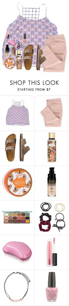 """Untitled #5909"" by laurenatria11 ❤ liked on Polyvore featuring Forever 21, TravelSmith, Victoria's Secret, Coty, Mudd, MAC Cosmetics, NAKAMOL and OPI"