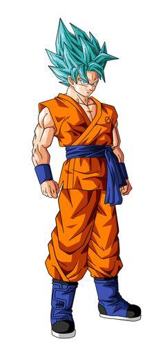Goku Super Saiyan God Super Saiyan 2 by BardockSonic on DeviantArt #SonGokuKakarot