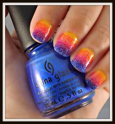 Southern Sister Polish: Thursday Special.....Fade into the Sunset