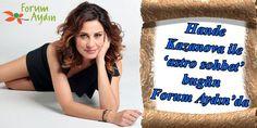 Hande Kazanova ile 'astro sohbet' bugün Forum Aydın'da