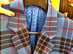 Bespoke tartan suit from Kilts4All, Kings Cross - London