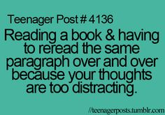 OMG can't even explain how many times I do this when reading a book