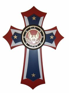 This is a very unique and beautiful layered cross. The cross is made from MDF and Birch Wood, that is stained and hand painted. There area total of 5 layers that make up this cross. Size: x Inch Tall Wooden Crosses, Wall Crosses, Painted Crosses, Mosaic Crosses, Decorative Crosses, Wholesale Home Decor, Affordable Home Decor, Military Cross, Navy Cross
