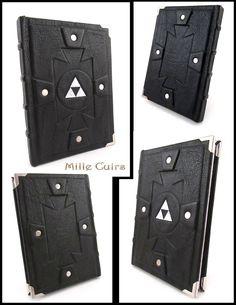Dark-Link Notebook by MilleCuirs on deviantART