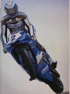 Motorcycle Art - Lee Bivens