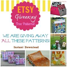 Etsy giveaway on www.sewlicioushomedecor.com