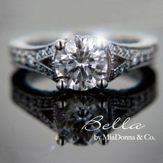 antique engagement ring... omg i am so in love <3