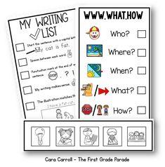 I Teach 1st... Writing check list. .THANK YOU!                                                                                                                                                                                 More