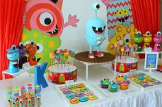 monster birthday theme