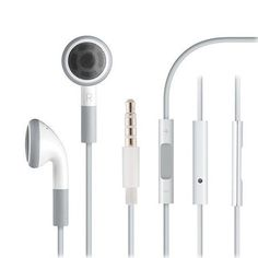 3.5mm Jack In-ear Earphone with Volume Control for iPhone 4 4S 5 5S 6 7 Plus iPod iPad 2 3 4 Samsung Galaxy Note 2 3 4 J3 J5 J7