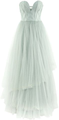 Tulle Dress - Lyst-- this is BEAUTIFUL. Remind anyone of Carrie Bradshaw in France?